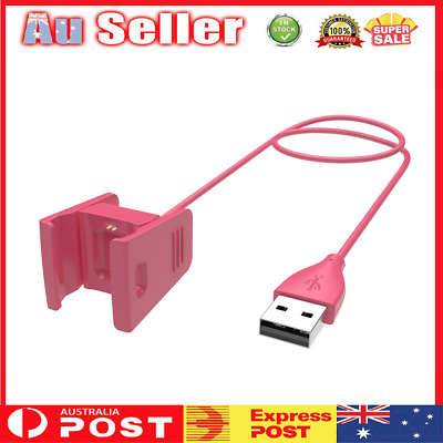 AU9.99 • Buy USB Charging Cable Standard Wall Car Charger Cable For Fitbit Charge 2
