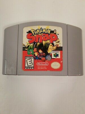 $22.88 • Buy Pokemon Snap (Nintendo 64 N64, 1999) Authentic - Tested & Works