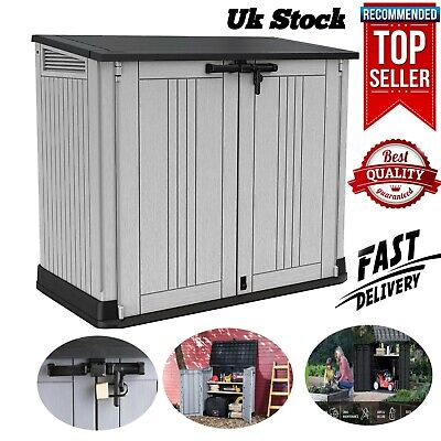 £199.99 • Buy Keter Store It Out MAX Garden Lockable Storage Box XL Shed Outsid Bike Bin Tool.