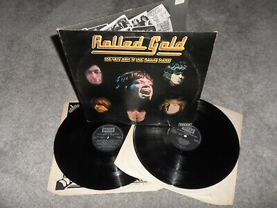 £0.99 • Buy Very Best Of The Rolling Stones Rolled Gold 2x LP Decca Black Label Vinyl Record