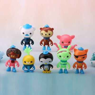 £5.99 • Buy 8pcs Set The Octonauts Figures Octo Crew Pack Playset PVC Action Figure Doll Toy