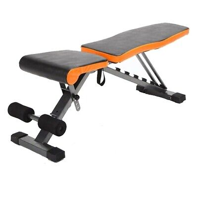 £35.99 • Buy Folding Dumbbell Stool Adjustable Bench Exercise Bench Sit-ups Fitness