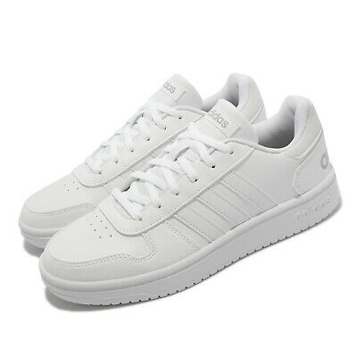 AU146 • Buy Adidas Hoops 2.0 White Grey Women Classic Casual Lifestyle Shoes Sneakers FY6024