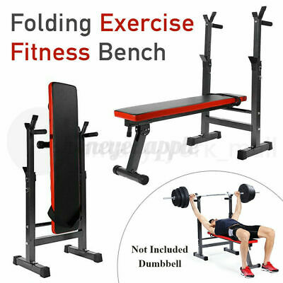 £47.89 • Buy Foldable Weight Lifting Bench Workout Exercise Incline Home Gym Training Fitness