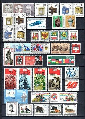 £6.20 • Buy East-Germany/DDR/GDR: All Stamps Of 1985 In A Year Set Complete, MNH