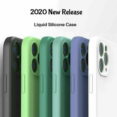AU11.22 • Buy Square Liquid Silicone Case For IPhone 13 12 Pro Max 11 78 X XS XR SE Soft Cover