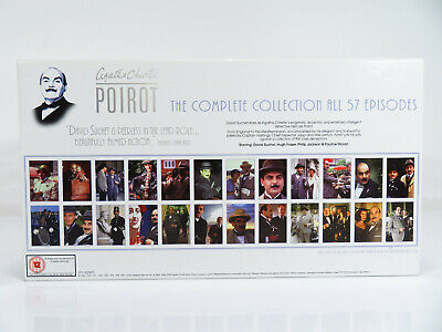 £32.99 • Buy Agatha Christie's Poirot - The Complete Collection - 24 Dvd Box Set