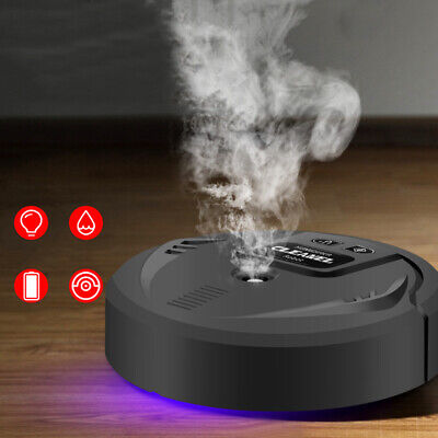 £18.59 • Buy Auto Floor Sweeping Robot Vacuum Cleaner Home UV Disinfection Spray Humidifier