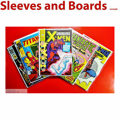 £12 • Buy Comic Bags Size1. Clear Sleeves Only Fits Marvel Digest Series Pocket Book X 25