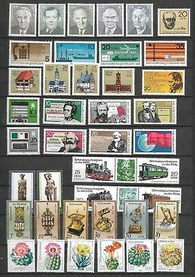 £6.20 • Buy East-Germany/GDR/DDR: All Stamps Of 1983 In A Year Set Complete, MNH