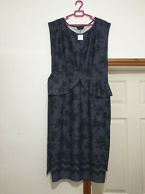 £19.99 • Buy Womens Dorothy Perkins Size 18 Peplum Dress New With Tag