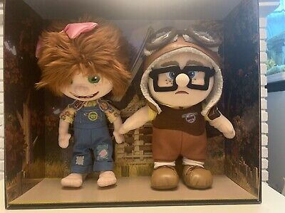 £550 • Buy Disney Store D23 Expo Up Carl & Ellie Plush Soft Toys Limited Ed Of 300