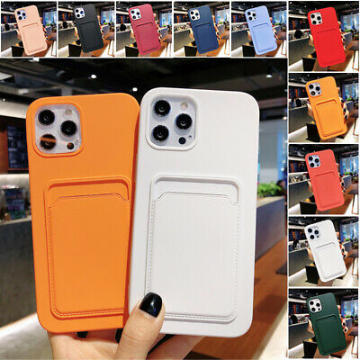AU10.99 • Buy For IPhone 13 12 Mini 11 Pro Max XR XS 8 SE Plus Case Shockproof Card Slot Cover