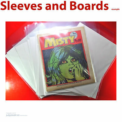 £9.98 • Buy Comic, Magazine And Graphic Novel Bags Sleeves And Boards For Size2. X 10 .