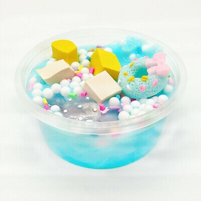 AU14.38 • Buy Ice Cream MultiColor Mixing Cloud Slime Putty Scented Stress Kids Clay Toys Kids