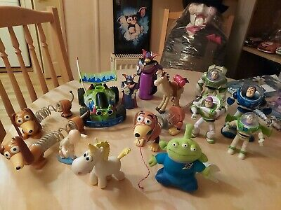 £29.99 • Buy Large Toy Story Bundle Some Rare Ones , Buttercup , Zurg , Rc And More