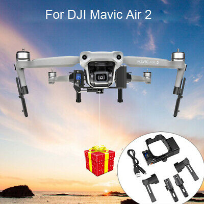 AU48.86 • Buy For DJI Mavic Air 2 Drone Air Thrower Delivery Dropping System Built-in Battery