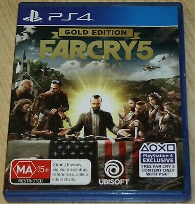 AU39.99 • Buy PS4 Game - Farcry 5 Gold Edition
