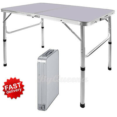 £28.12 • Buy Heavy Duty Folding Table Portable Plastic Camping Garden Party Catering BBQ New