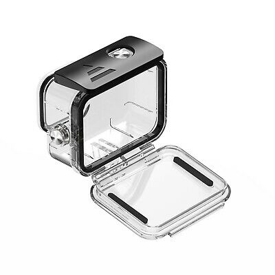 AU24.99 • Buy TELESIN Transparent Waterproof Shell Diving Shell 50M Fit For Gopro 9/10 SP