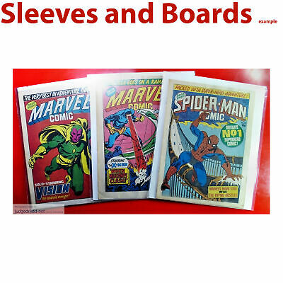 £12 • Buy Spider-Man Comic, Comic Bags Only Size2, Sleeves For Comics X 25