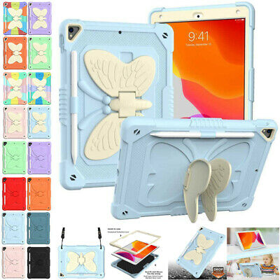 AU29.49 • Buy For IPad 7 8 9th Gen 10.2  Air Pro 10.5  Kids Strap Shockproof Stand Case Cover