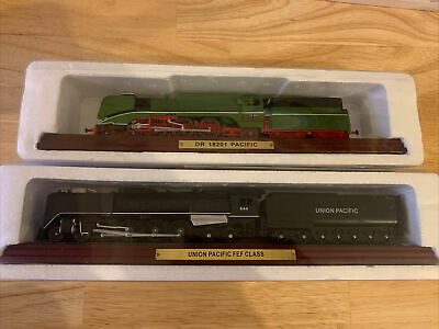 £14 • Buy Atlas Editions Static Trains Union Pacific FEF CLASS & DR 18201 Pacific