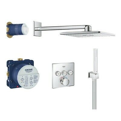 £799.99 • Buy Grohe Grotherm SmartControl Perfect Shower Cube Square Set With Rainshower 310