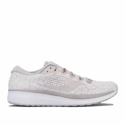 £28.94 • Buy Women's Saucony Jazz 21 Lace Up Breathable Running Shoes In Cream
