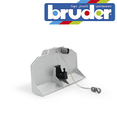 AU27.57 • Buy Bruder Forestry Blade & Winch For Tractor Childrens Kids Toy Model Scale 1:16