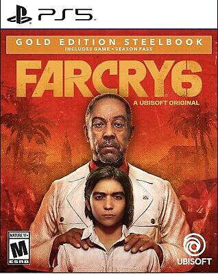 AU113.84 • Buy Far Cry 6 Gold Edition (Steelbook) For PlayStation 5 PS5 New/Sealed On Hand