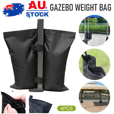 AU22.59 • Buy 4 PACK Set Garden Gazebo Foot Leg Feet Weights Sand Bags For Marquee Party Tent