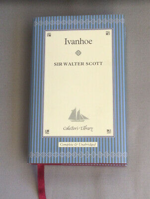 £6.50 • Buy Ivanhoe (Collectors Library) By Scott, Walter Hardback Book Lovely Condition