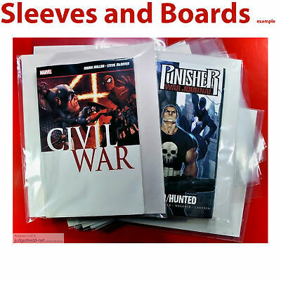 £15.98 • Buy Marvel Graphic Novel Sleeves / Bags Only Size2 For Comics + Annuals X25 .