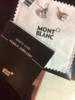 £32.07 • Buy MONTBLANC Earings Used Good Condition Made In Germany W Box And Paperwork