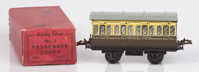 £12 • Buy Hornby O Gauge No.1 GWR Brown And Cream 1st Class Passenger Coach Boxed