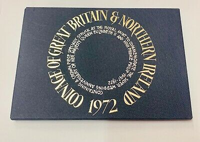 """£5.50 • Buy """"1972 Coinage Of Great Britain & N. Ireland Proof Set In Case"""""""