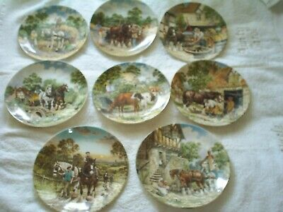 £20 • Buy Wedgewood - Life On The Farm Series - 8  Plates- Excellent Cond. Limited Edition