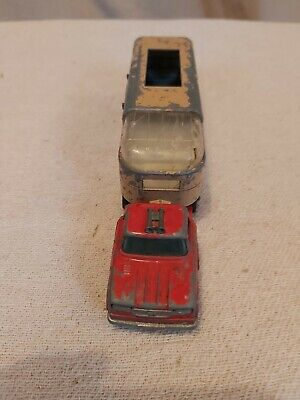 £1.50 • Buy Matchbox King Size K18 Dodge Tractor And Articulated Horse Van Lesney