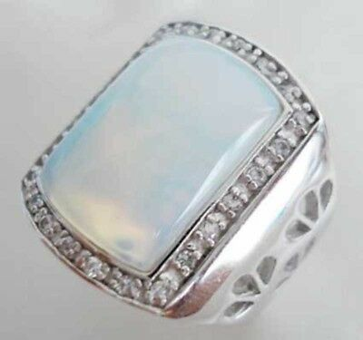 £7.24 • Buy Vintage Inlaid Agate Turquoise Jade Ring For Men Unisex Fashion Jewelry Gift