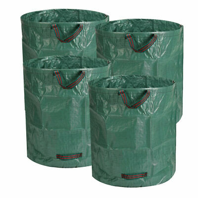 £5.99 • Buy XL Large Garden Waste Bags 272L Refuse Heavy Duty Sacks Grass Leaves Rubbish Bag