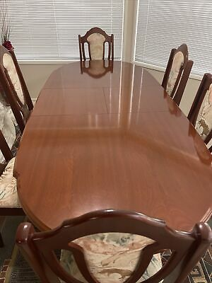 AU225 • Buy Toscana Extendable Dining Table & Chairs Set - 6 Pieces