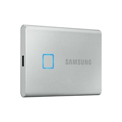 AU125 • Buy Samsung T7 Touch Portable SSD Drive [500GB](Silver)
