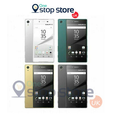 AU165.46 • Buy SONY Xperia Z5 32GB 23MP Android Unlocked Phone Smartphone Black White Gold