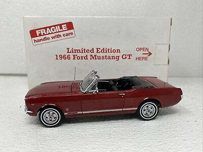 AU36.37 • Buy 1/24 Danbury Mint 1966 Ford Mustang GT Convertible Limited Red