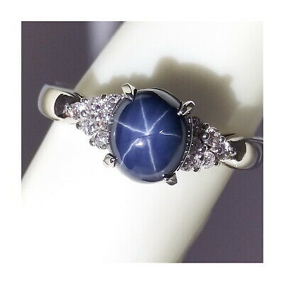 AU5.66 • Buy Jewelry Ring Star Sapphire   Other 1.9ct Platinum 1815614