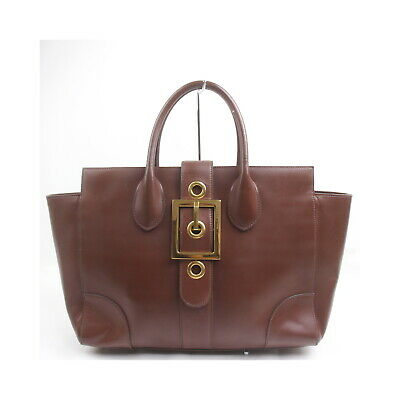 AU52.52 • Buy Gucci Tote Bag  Browns Leather 2410003