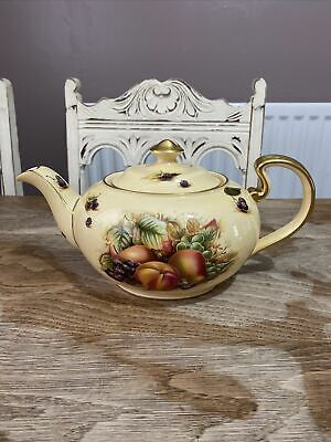 £449.99 • Buy Aynsley Orchard Gold Large Size Teapot