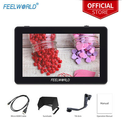 AU239.99 • Buy FEELWORLD F6 PLUS Touch Screen DSLR Video Monitor 3D LUT HDR 4K HDMI Full HD IPS