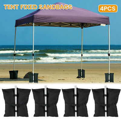 AU23.51 • Buy 4X Garden Gazebo Weights Sand Bag Foot Leg Feet For Marquee Party Tent Set